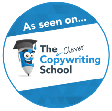 As seen in the clever copywriting school