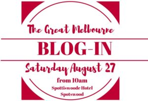 The Great Melbourne Blog In - 27 August 2016 at the Spottiswoode Hotel, Spotswood