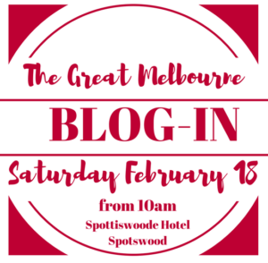 The Great Melbourne Blog-in is back