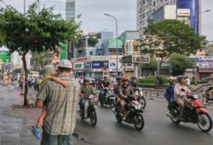 Navigating the streets of Ho Chi Minh