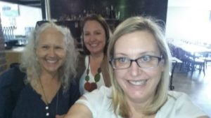 Selfie Style at the Great Melbourne Blog-in with Melinda Clarke, Karen Hollenbach and Sandra Muller, your blog in host