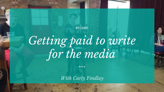 Getting paid to write for the mainstream media