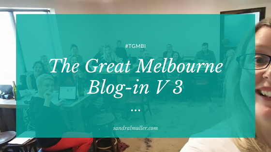 The Great Melbourne Blog in V3 - a write up of the event