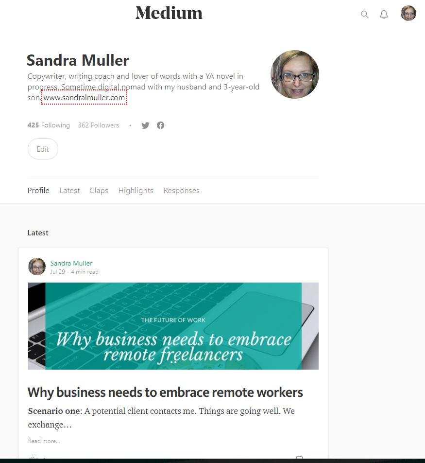 Sandra Muller on Medium