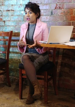 Debasree Das Mall Presenting on Personal Branding
