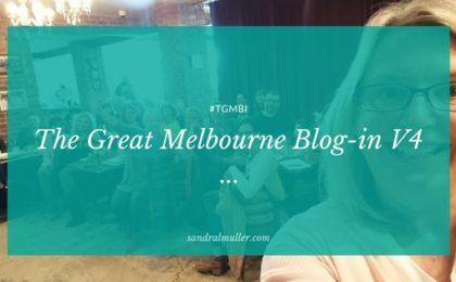 The Great Melbourne Blog-in V4
