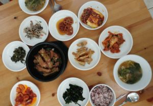 baek-ban Korean style home cooking