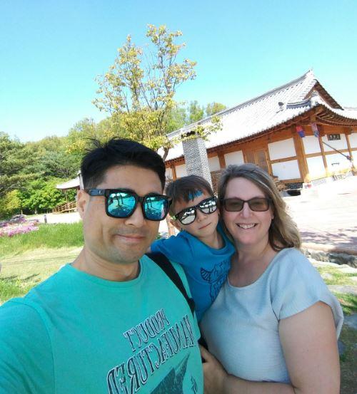 My family in Korea