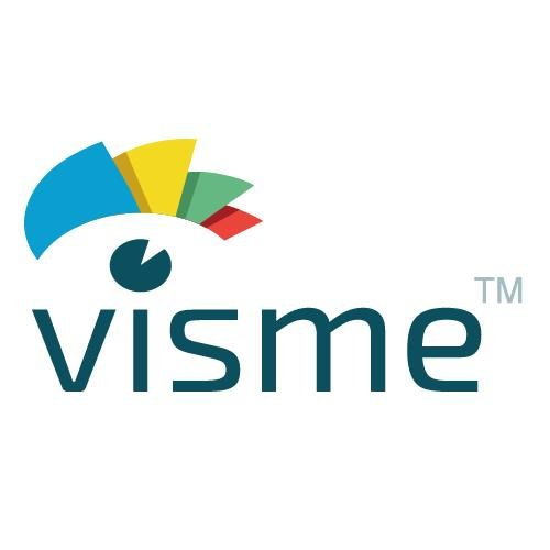 Visme logo - Visme review