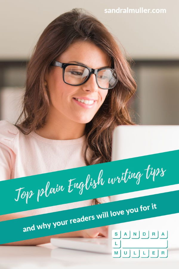 Top plain English writing tips