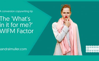 The WIFM Factor - Conversion Copywriting