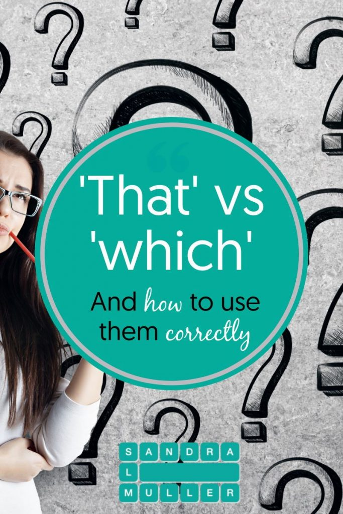 That vs Which and how to use them correctly