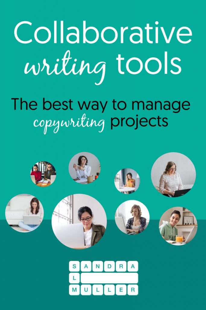 Online collaborative writing tools -  the best way to manage a copywriting project