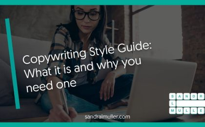 Copywriting Style guide - what it is and why you need one