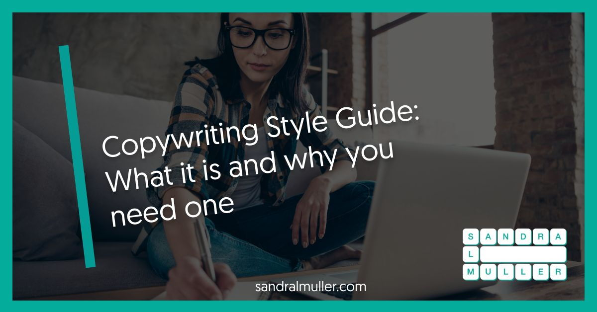 Copywriting style guide examples