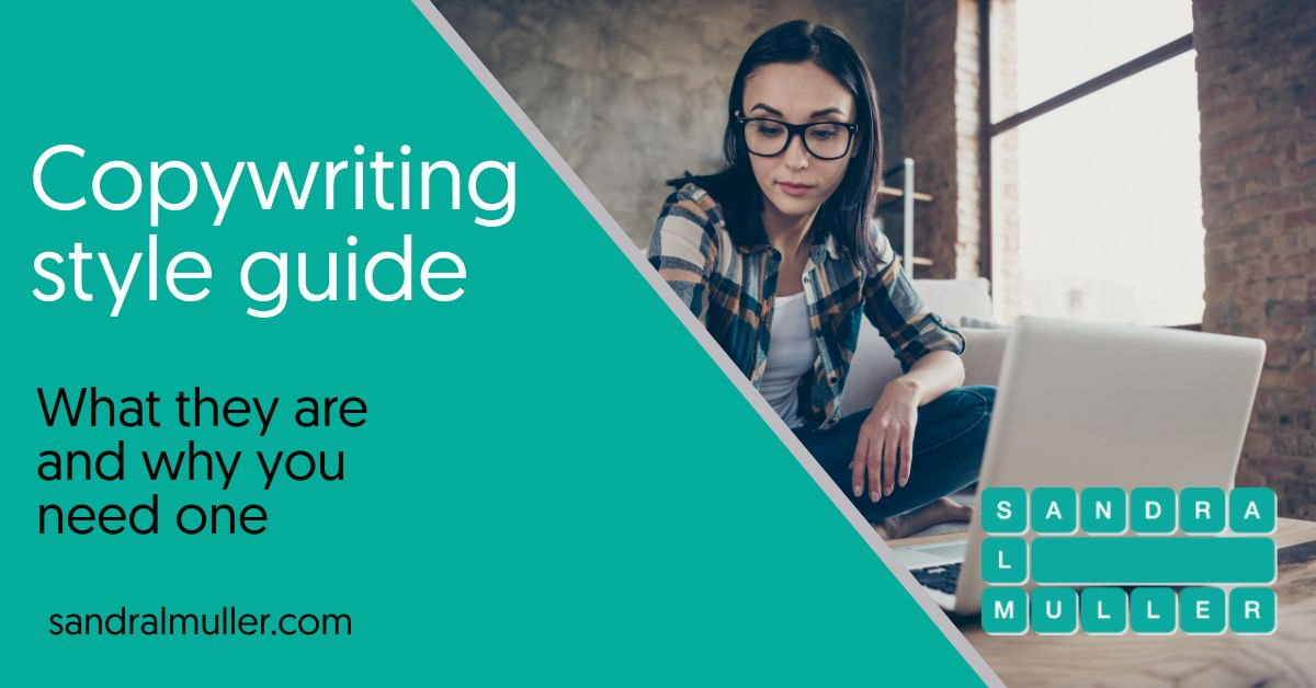 Copywriting style guide and why you need one