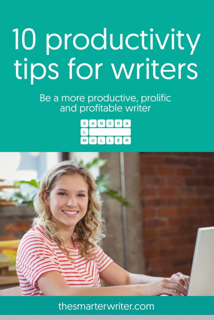 10 productivity tips for writers